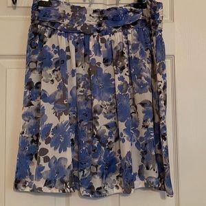NWT! Hanna & Gracie Petite Patterned Skirt sz PL